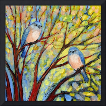 Two Bluebirds