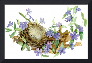 Homestead: Nest and Periwinkle