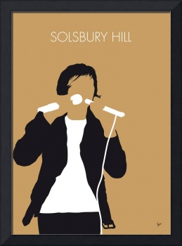 No150 MY PETER GABRIEL Minimal Music poster