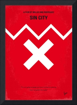 No304 My SIN CITY minimal movie poster