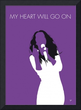 No151 MY Celine Dion Minimal Music poster