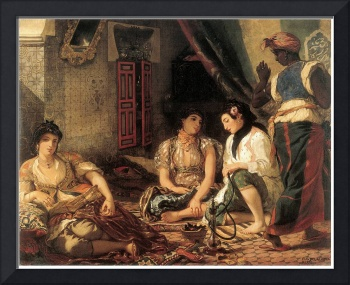 Algerian Women in Apartments by Eugene Delacroix