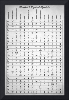 Magickal And Mystical Alphabets
