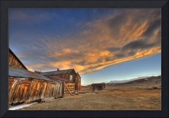 Bodie Sunset Two