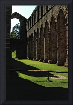 Fountains Abbey in Summer 7