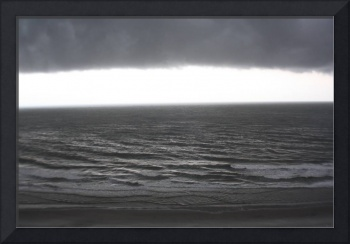 Foreboding Clouds Over Sea 2