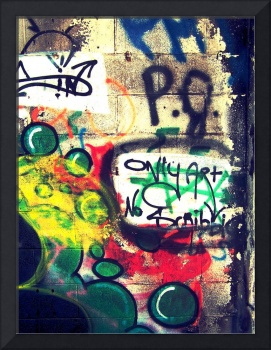 Only Art...No Scribbles