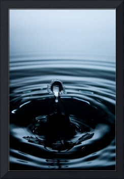 Water Drop Photography -  A Saint in Holy Water