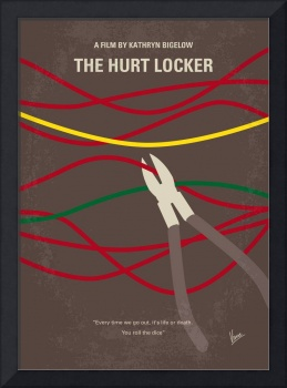 No746 My The Hurt Locker minimal movie poster
