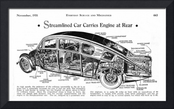 Streamlined Car