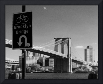 Bike Brooklyn Bridge, Manhattan NY