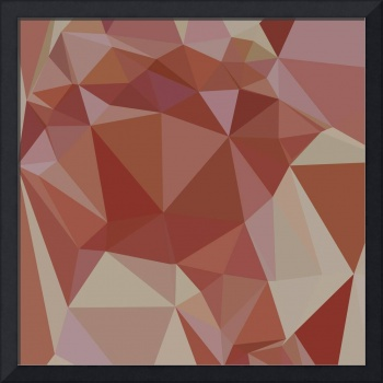 Congo Pink Abstract Low Polygon Background