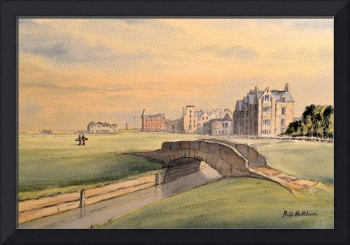 St Andrews Golf Course Scotland 18th Hole Larger S