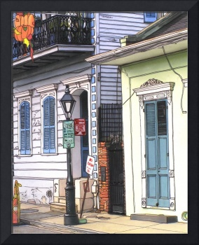 French Quarter Sidewalk
