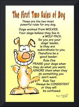 The First Two Rule of Dog