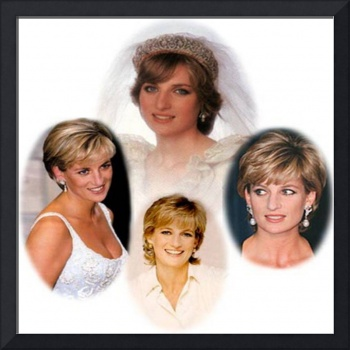 Diana,Princess of Wales Collage