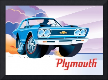 Classic Plymouth GTX