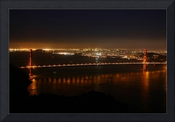 Award Winning Night Golden Gate Bridge