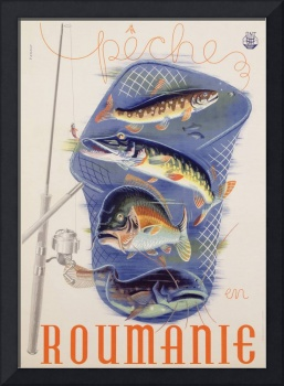 Poster advertising Romania, Bucharest, c.1932