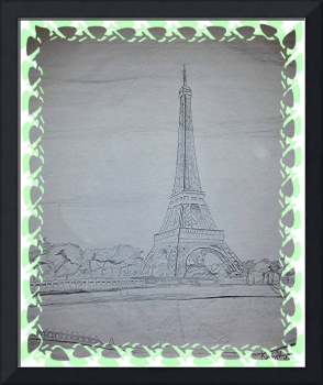 Eiffel Tower Green Ive