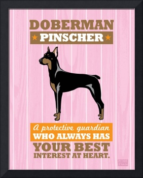 Doberman Pink/Orange