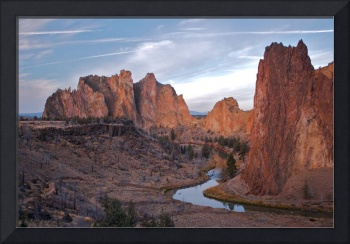 Curve At Smith Rock (Color)