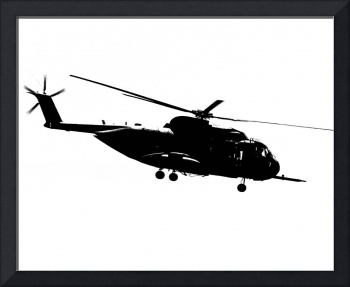 CH-53 Jolly Silhouette
