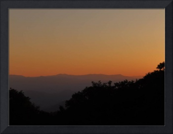 2016 08-August 29 Smoky Mountain Sunset 1000 Rob W