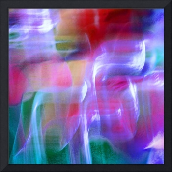 Mystic Color Abstract Square #5