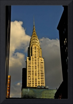 Chrysler Building in the golden light