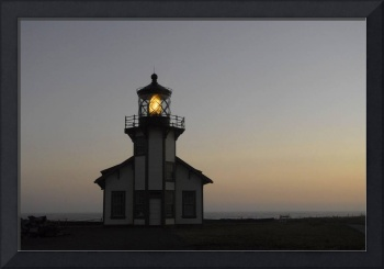 Point Cabrillo Lighthouse at Dusk