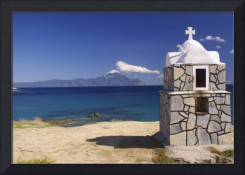 Shrine over Mount Olympus
