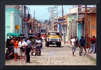 Trinidad Main Town, Later, Very Busy