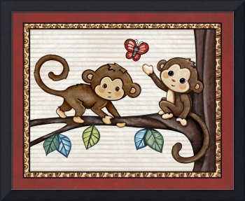 Monkey Friends. Treetop Jungle Buddies Collection