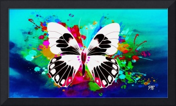 Abstract Butterfly Art 17