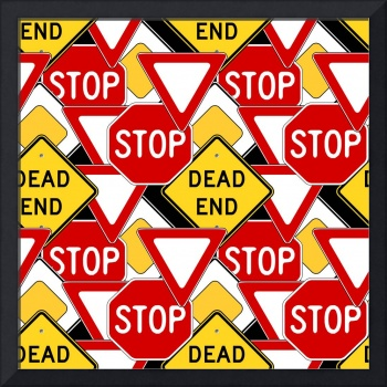 traffic signs pattern