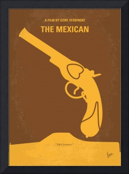 No077 My THE MEXICAN minimal movie poster