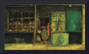 James McNeill Whistler~Carlyle's Sweetstuff Shop