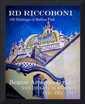 Balboa Park Paintings Poster