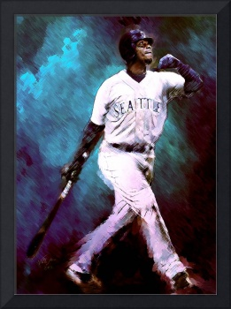 Ken Griffey, Jr. Seattle Mariners, Sweet Swing, ar
