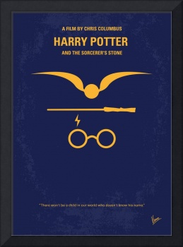 No101 My Harry Potter minimal movie poster