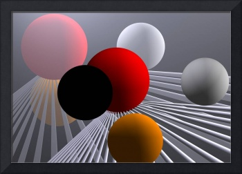 converging lines and balls -2-