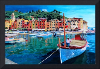 Tranquility in the Harbour of Portofino