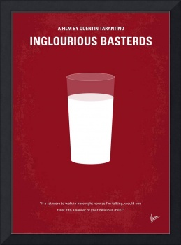 No138 My Inglourious Basterds minimal movie poster