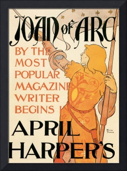 Harper's April by Edward Penfield