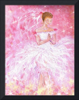 fairytale wedding, a Bride's Prayer painting