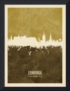 Edinburgh Scotland Skyline