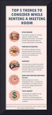 Tips to consider while renting a meeting room