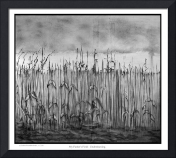 My Father's Field - Underdrawing