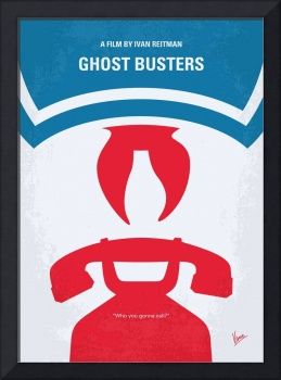 No104 My Ghostbusters minimal movie poster